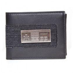 Portefeuille pliable Nintendo: Manette NES en métal