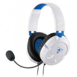 Turtle Beach - Casque Gamer - Recon 50P Blanc (compatible PS4/Xbox/Switch/PC/Mobile) - TBS-3304-02