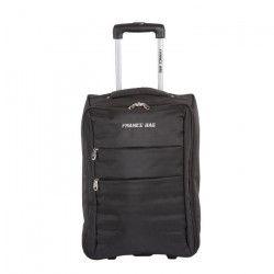 FRANCE BAG Valise Cabine Low Cost Souple 2 Roues pliable noir