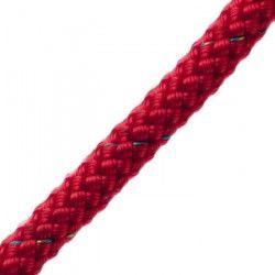 POLYROPES Cordage Polyester Proline Rouge 8mm 25m