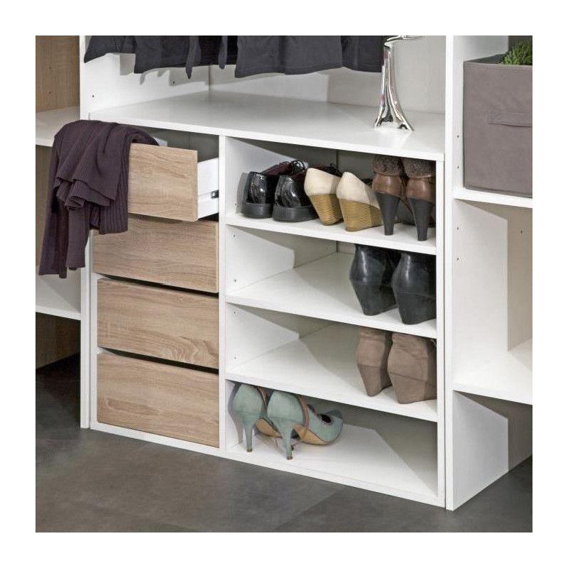 dress kit dressing extensible rideau contemporain. Black Bedroom Furniture Sets. Home Design Ideas