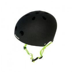KAWASAKI Casque de Protection Taille Ajustable L / XL Noir et Vert