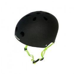 KAWASAKI Casque de Protection Taille Ajustable S / M Noir et Vert