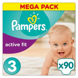 PAMPERS Active fit mega - T3 - x90