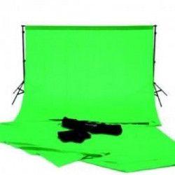 KONIG KN-STUDIO60 Kit Toile Backdrop Studio 200 cm - Vert