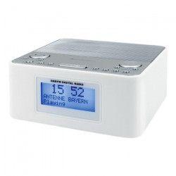 SOUDMASTER UR170WE Radio-réveil numérique DAB + / FM avec double alarme