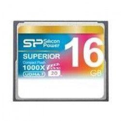 SILICON POWER Carte mémoire Compact Flash 1000X - 16 Go