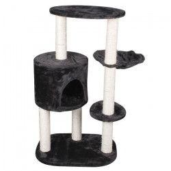 Arbre a chat 53x40xH95 cm - Noir et blanc