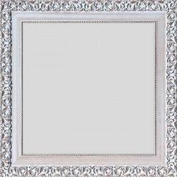 FLORENCE Miroir MDF 47x97 cm Blanc décapé