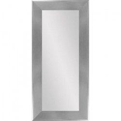 Miroir Nv - MDF - 46x96 cm - Gris argenté