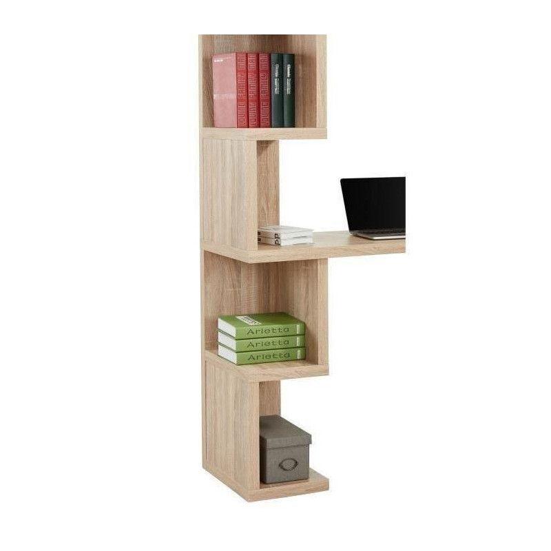 campus bureau asym trique contemporain d cor chene. Black Bedroom Furniture Sets. Home Design Ideas