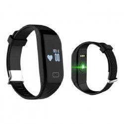 WEE`PLUG Bracelet sport connecté Bluetooth SB15 - CARBONE