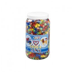 HAMA Pot de 1400 Maxi perles mix 11 couleurs
