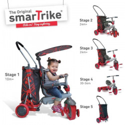 SMART TRIKE Tricycle Smart and Go 3 en 1