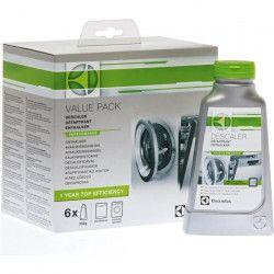 ELECTROLUX 902979529 - Set de de 6 détartrants pour lave-linge et lave-vaisselle