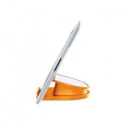 LEITZ Support de bureau rotatif pour tablette Wow - Orange
