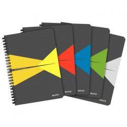 LEITZ OfficeCard - Lot de 5 cahiers - A4
