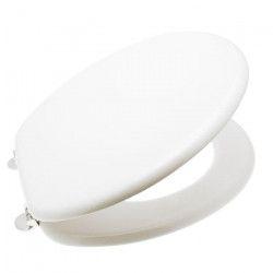 FRANDIS Abattant WC bois blanc
