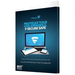 F Secure Safe - 5 appareils / 1an - PC/MAC - Sécurité Internet
