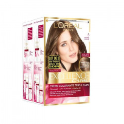 L`OREAL Coloration Blond clair Excellence Creme 6 x 3