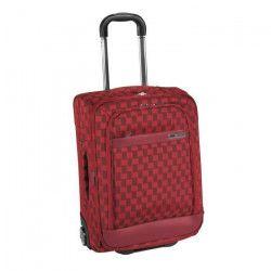 SAVEBAG Valise souple de cabine 2 roues `Lorie 5` SQUARE - 38L - Rouge