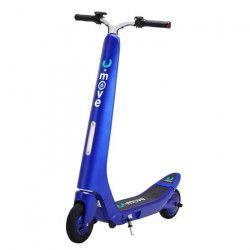 U.MOVE Trottinette Electrique U.RETRO Bleu avec enceintes stéréo Bluetooth intégrées