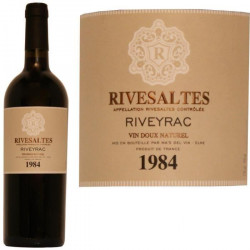 Rivesaltes 1984 Riveyrac 17° 75cl