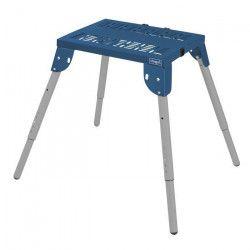 SCHEPPACH Table multifonctions 60x45 cm ajustable a 6 niveaux MT60