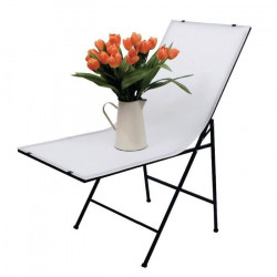 KONIG KN-STUDIO50N Table a photo 120 x 50 cm - Blanc