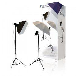 KONIG KN-STUDIO91N Kit Photo Studio semi-professionnel