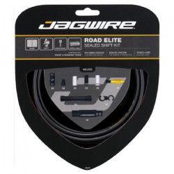 JAGWIRE Kit câble de frein Road Elite Sealed Shift - Gaine prélubrifiées - Faible friction - Noir mat