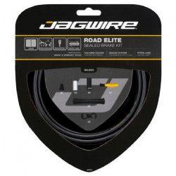 JAGWIRE Kit câble de frein Road Elite Sealed Brake - Avant, arriere, gaine, train - Résistant - Noir mat