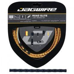 JAGWIRE Kit câble frein Road Elite Link Brake - Câbles, gaines, boîtiers, segments - ø extérieur 5,0 mm - Noir