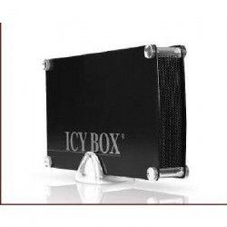 ICY BOX Boîtiers pour disques durs SATA 3.5` USB 3.0 noir