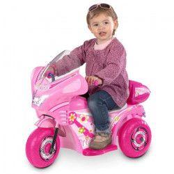 Quad électrique princesse rose 3 roues