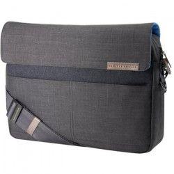 HP Sacoche pour ordinateur portable - Premium messenger - 15,6` - Gris