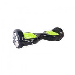 TAAGWAY Hoverboard 6,5` Fluo 2 x 350 W Noir avec Pedale Jaune