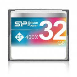 SILICON POWER Carte mémoire Compact Flash 400X - 32 Go