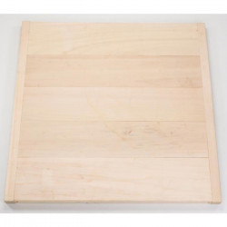 MECABOIS Planche a Palet en bois pour le jeu du palet breton - Fabriqué en France