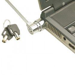 LINDY Câble Antivol pour ordinateur portable - Métallique avec gaine - 1,6 m