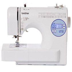 Brother machine a coudre électronique DS-140 -bras libre - 40 fonctions de couture - écran LCD - variateur de