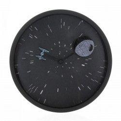 Horloge Star Wars: Death Star & TIE-Fighter