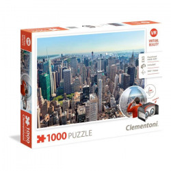 CLEMENTONI Assortiment Puzzles réalité virtuelle 1000 pieces