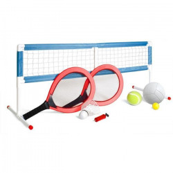 OCIOTRENDS Set Jumbo 3en1 : Badminton, Volley-Ball et Tennis