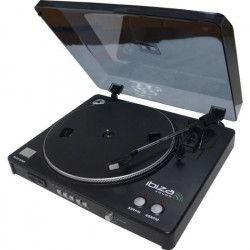 IBIZA LP300 Platine disques USB/SD avec fonction d`enregistrement
