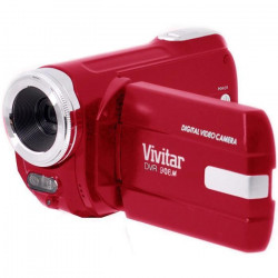 VIVITAR DVR908MFD-RED Camescope numérique Full HD 1080 P - 10 Mpx - Rouge