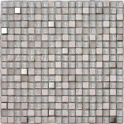 MOSAIQUE LAGON GRIS 30X30 CM