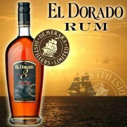 Rhum El Dorado 8 ans Guyana Demerara
