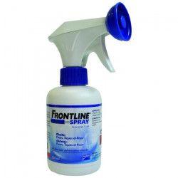 FRONTLINE Spray antiparasitaires - 250 ml - Pour chien et chat