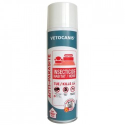 VETOCANIS Spray insecticide 500 ml - Pour l'habitat